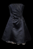 Events Heavy Satin Party Dress
